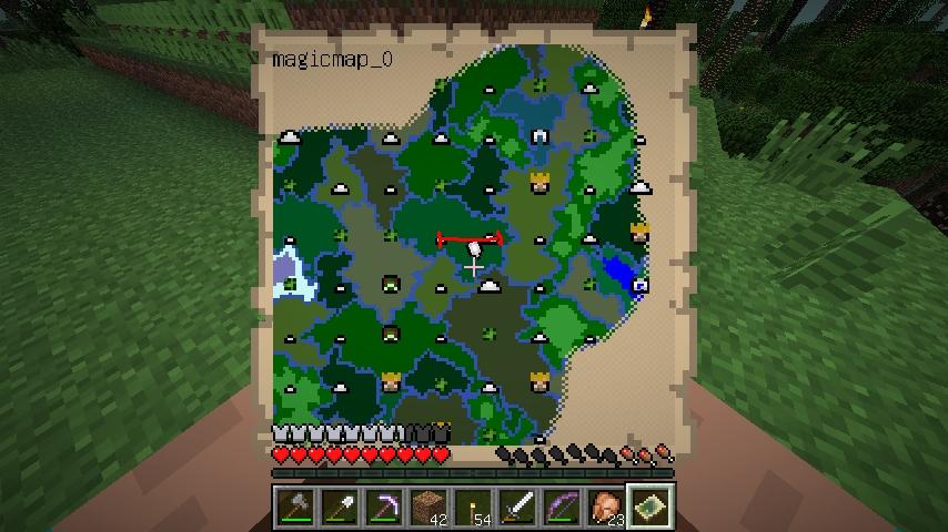 Twilight Forest マルチバグの解決方法説明用